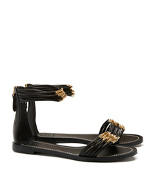 Tory Burch Mignon Rings Flat Sandal