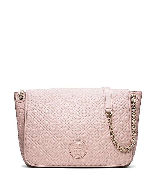 Quilted Flap Shoulder Bag 8
