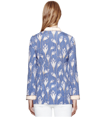 Blue Jay Carly Pinstripe  Tory Burch Sabrina Tunic