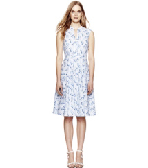 White Bollin  Tory Burch Talley Dress