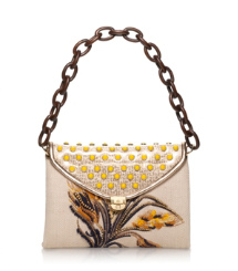 Maddie Wheat Embroidered Shoulder Bag