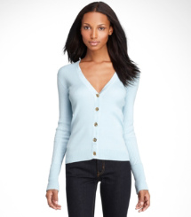 SHRUNKEN SIMONE CARDIGAN- | 403 | STRING BIKINI TOP