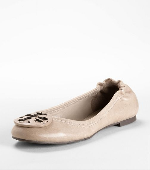 leather reva ballet flat | Tory Burch