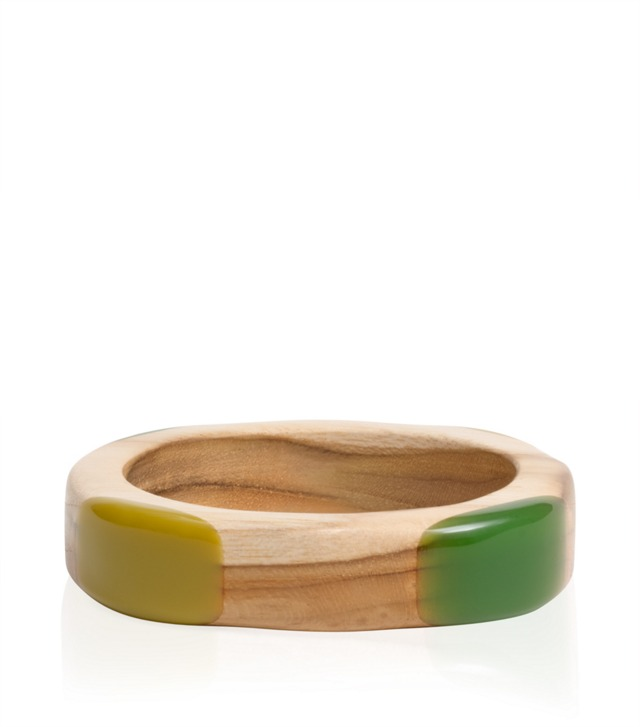 Wood Resin Thin Bangle