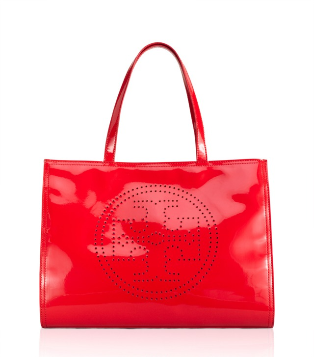 Perforated Logo Small Tote