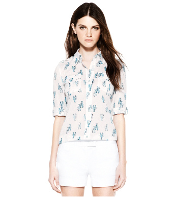 Ivory Bailey  Tory Burch Brigitte Blouse