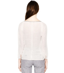 Ivory Tory Burch Lucille Top