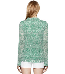 STEPHANIE TUNIC | FERN GREEN CARACOL (A) | 320