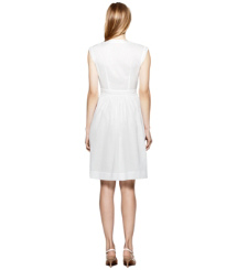 White Tory Burch Nico Kleid