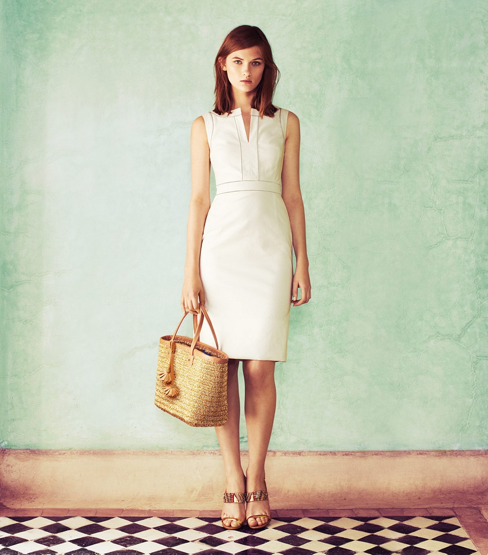 zoie dress / tory burch