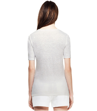 White Tory Burch Maribel Tee