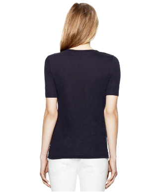 Med Navy Tory Burch Maribel Tee