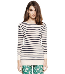 POLINA SWEATER | IVORY CLASSIC SAILOR STRIPE (A) | 180