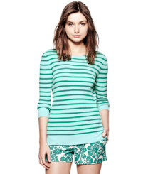 Stream Classic Sailor Stripe  Tory Burch Polina Sweater
