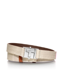 "Tory Burch Ombré Push ""t"" Belt"