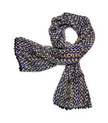 Tory Burch Painted Links Scarf