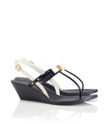 Tory Burch Kailey Wedge Thong Sandal
