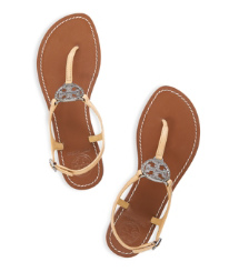 Iced Coffee Tory Burch Violet Thong Sandal