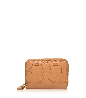 Tory Burch Amalie Zip Coin Case