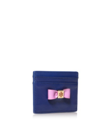 Tory Burch Bow Slim Card Case
