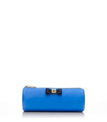 Tory Burch Bow Tubular Cosmetic Case