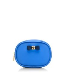 Evening Sky Tory Burch Bow Small Cosmetic Case
