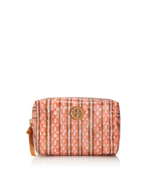 Tory Burch Coated Poplin Brigitte Cosmetic Case