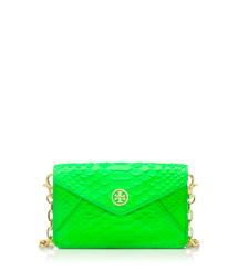 Apple Green Tory Burch Neon Snake Crossbody