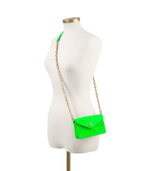 NEON SNAKE CROSSBODY | APPLE GREEN | 310
