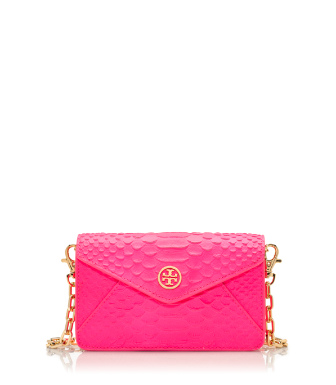 Energy Pink Tory Burch Neon Snake Crossbody