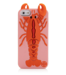 Tory Burch Lobster Silicone Case For Iphone 5