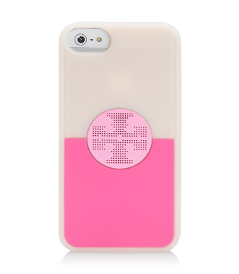 Tory Burch Viva Silicone Case For Iphone 5
