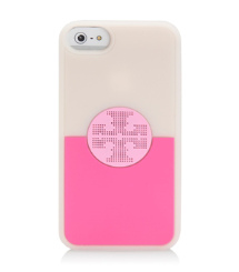 Light Pink Multi (combo E) Tory Burch Viva Silicone Case For Iphone 5
