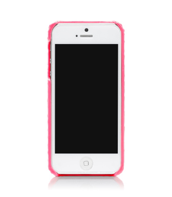 Energy Pink Tory Burch Neon Snake Hardshell Case For Iphone 5