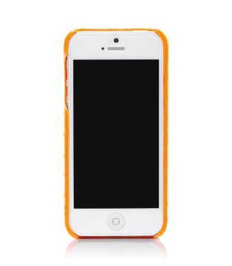 Sunrise Orange Tory Burch Neon Snake Hardshell Case For Iphone 5