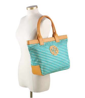 Tory Burch Small Sophia Canvas Tote