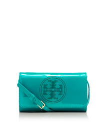 Tory Burch Perf Logo Clutch