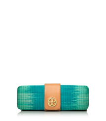 Ombré Turnlock Clutch