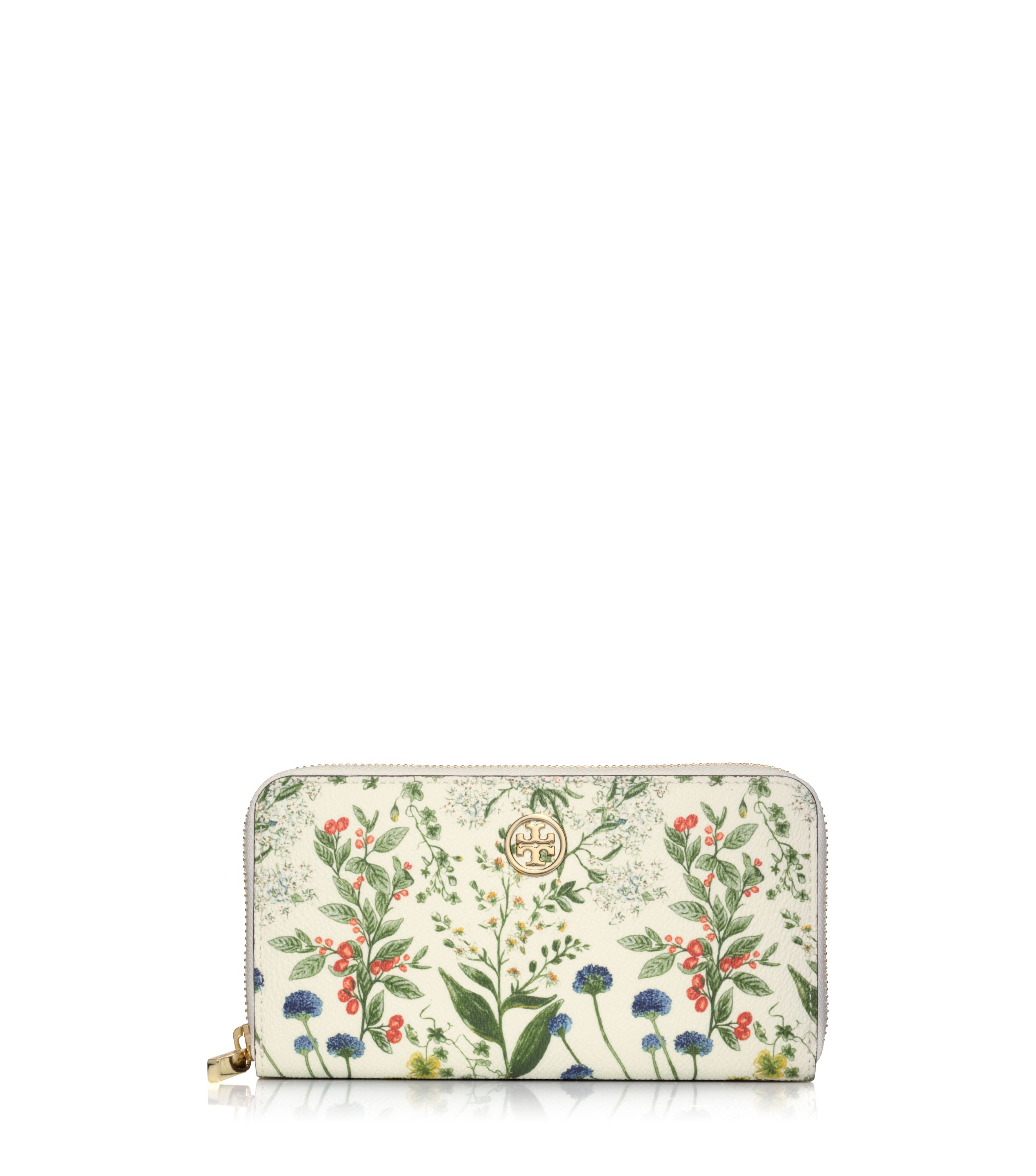 Sale alerts for Tory Burch ROBINSON PRINTED ZIP CONTINENTAL WALLET - Covvet