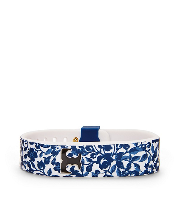 tory burch tory burch for fitbit silicone printed bracelet women 39 s tory burch for fitbit. Black Bedroom Furniture Sets. Home Design Ideas