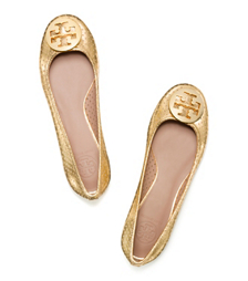 Tory Burch Perforated Reva Ballet Flat