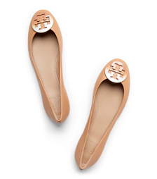 Tory Burch Dip-dye Logo Ballet Flat