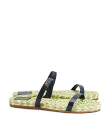 Tory Burch Two-band Flat Espadrille Slide