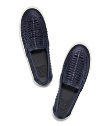 tory burch huarache slip on sneaker. Black Bedroom Furniture Sets. Home Design Ideas