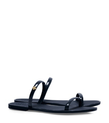 Tory Navy Tory Burch Two-band Jelly Slide