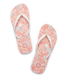Ivory-emmarentia B Tory Burch Thin Flip-flop
