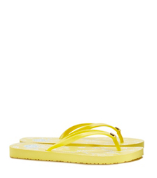Sun Ray-sum Cape Floral B Tory Burch Thin Flip-flop
