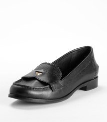 PENNIE LOW HEEL-SAFF | BLACK | 001