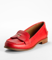 PENNIE LOW HEEL-SAFF | TORY RED | 603