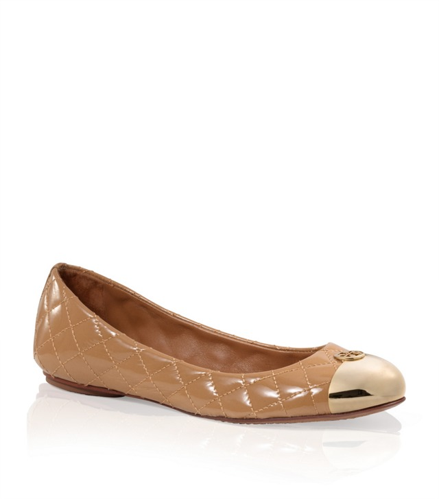 Quilted Leather Kaitlin Ballet Flat